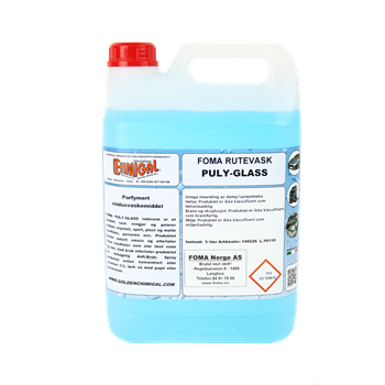 Produktbilde for Rutevask Puly-Glass 5 liter