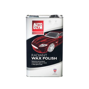 Produktbilde for Auto Glym Radiant Wax Polish 12 5L