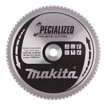 Produktbilde for Makita Sagblad HM 305x25,4mm 1,95mm 78T (lc1230)