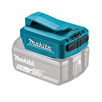 Produktbilde for Makita USB Adapter for 18V/14,4V batterier m/2 USB-utganger