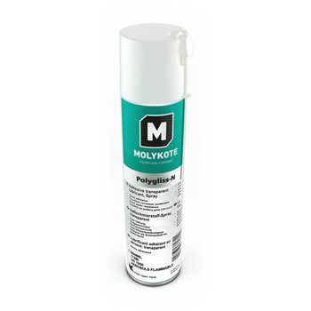 Produktbilde for Molykote Polygliss heftefett 400ml spray