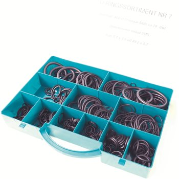 Produktbilde for O-ring assortiment Box H NBR 70
