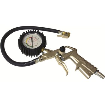 Produktbilde for Luftpåfyller m/manometer PSI/Bar